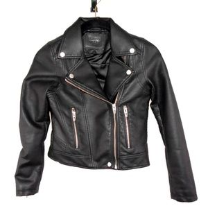 BlankNYC Vegan Leather Moto Jacket Blank NYC Girls